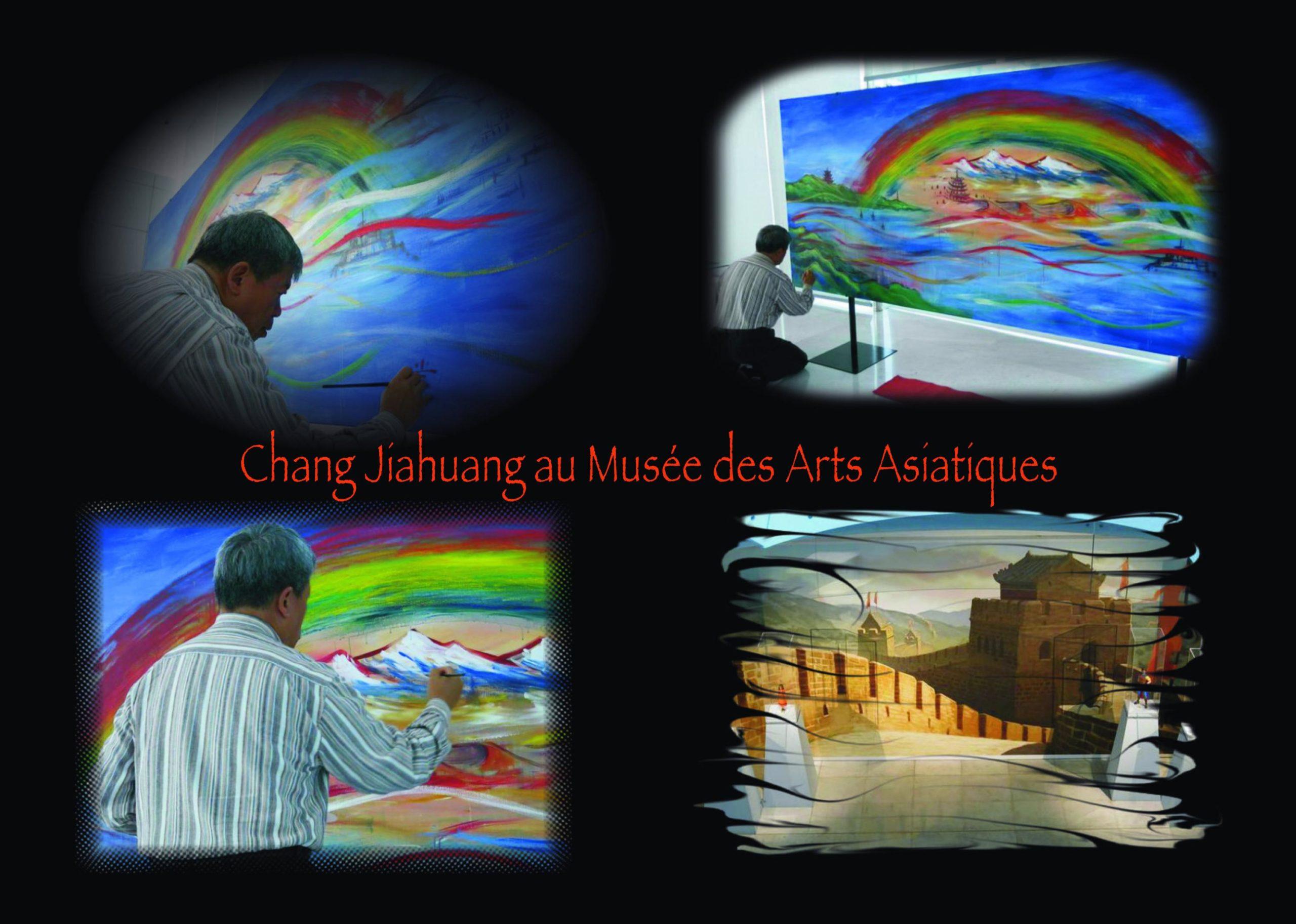 musee asiatique fond noir