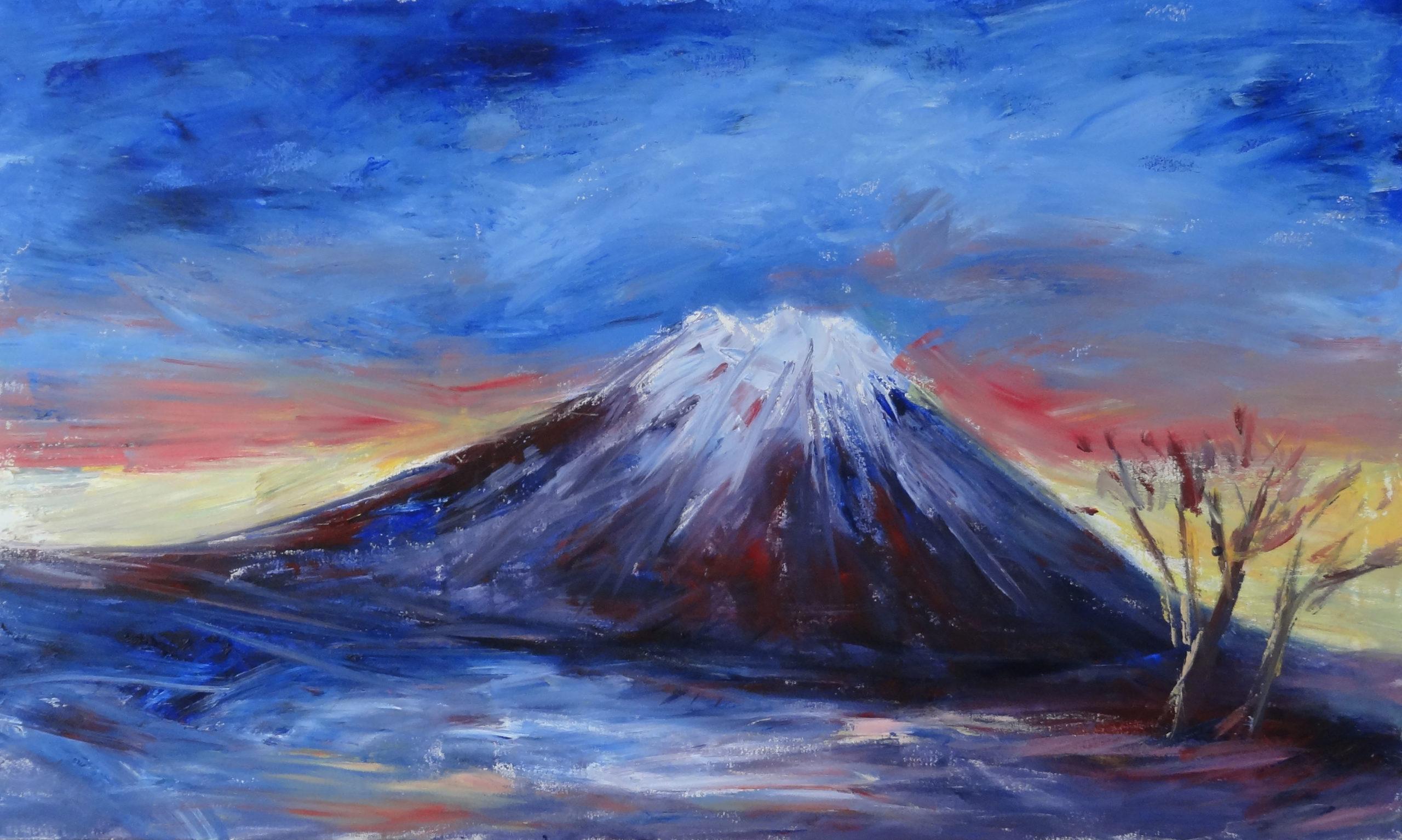 2011.11íÂMt.YoteiíÀ M50 No. 116cmX72cm ( Music Painting ) 2011.11