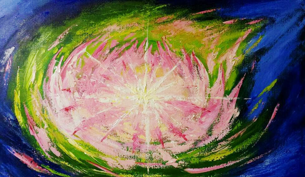 2013.06íÂHeart Sutra - Lotus LightíÀ M50 No. 116cmX72cm