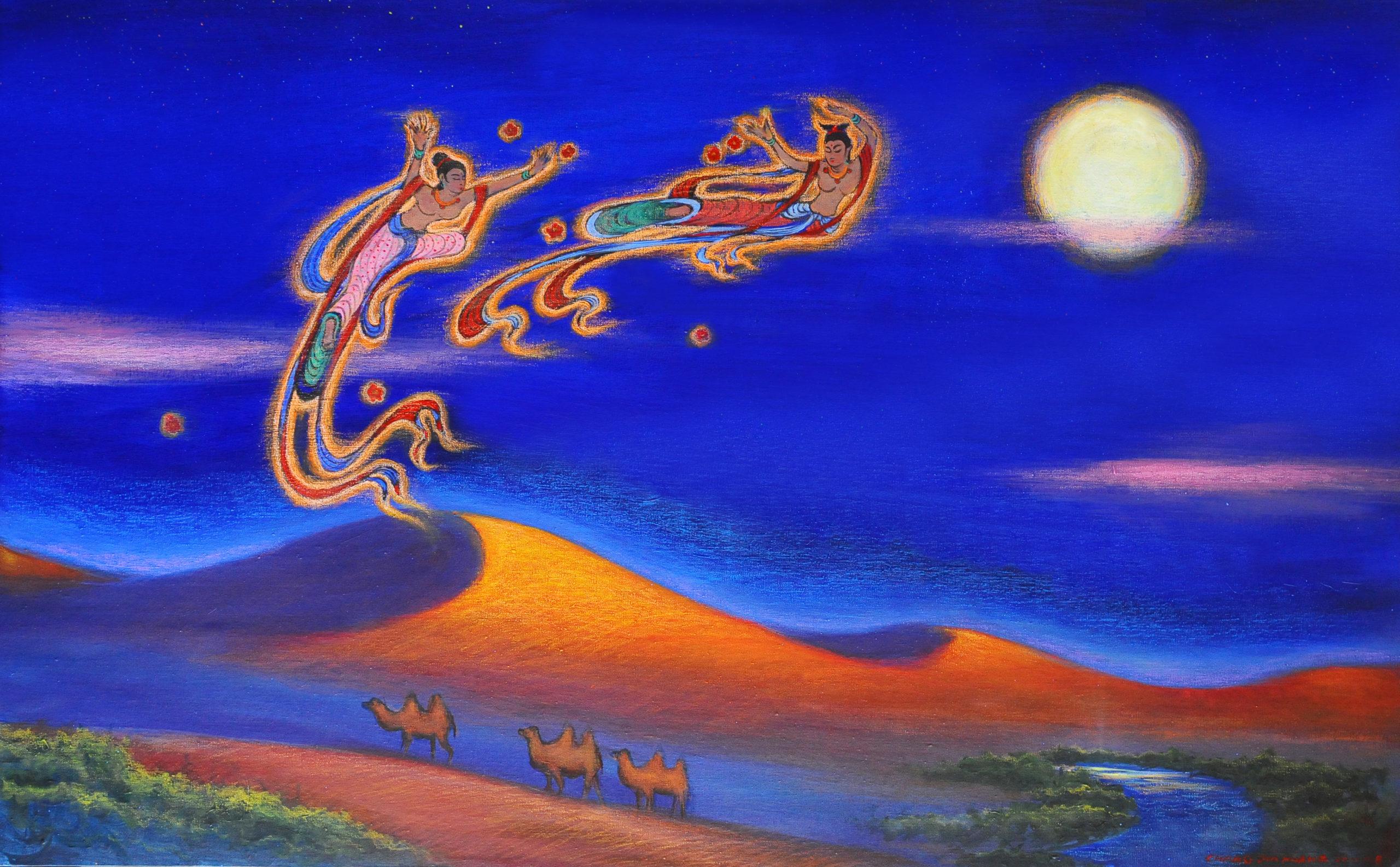 1-Dunhuang Moonlightí