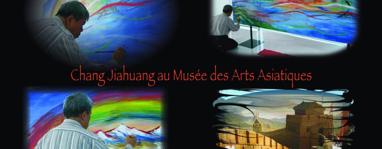 musée asiatique fond noir